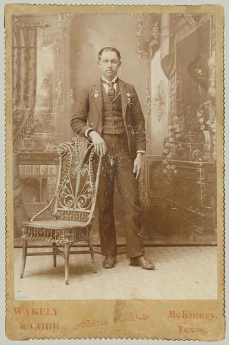 cabinet card man