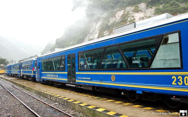Alto vagón - Peru rail - de Cusco a Machu Picchu