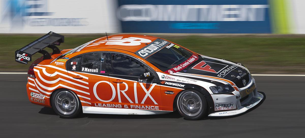 Motor racing shoot