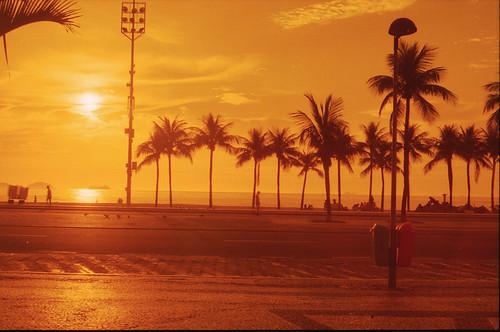 Redscale Copacabana