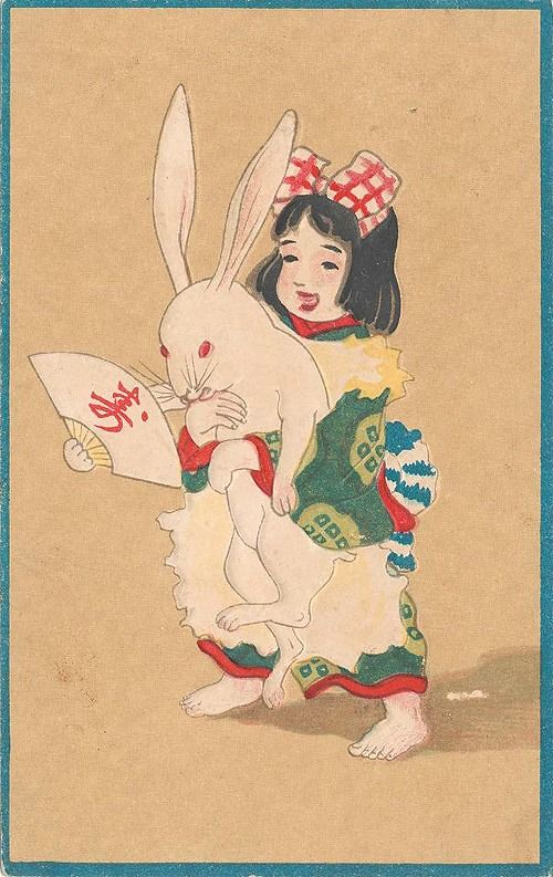 tinybunny year of the rabbit 1915