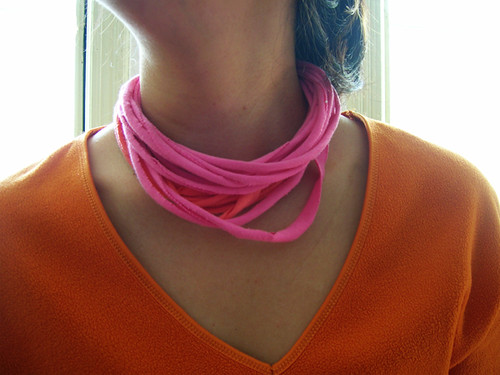 pink and orange stringies
