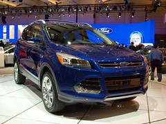 automobile(1.0), automotive exterior(1.0), sport utility vehicle(1.0), mini sport utility vehicle(1.0), wheel(1.0), vehicle(1.0), automotive design(1.0), auto show(1.0), crossover suv(1.0), ford escape(1.0), bumper(1.0), ford(1.0), land vehicle(1.0), luxury vehicle(1.0),