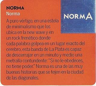 """Reseña """"A"""" normA"""