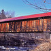 Coombs Road Covered Bridge!! Winchester, New Hampshire