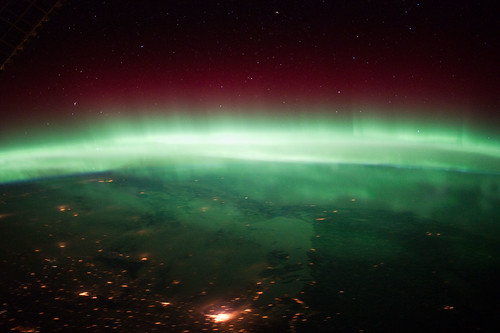 Aurora Borealis Over Canada (NASA) | Wow! Planet Earth