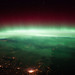 Aurora Borealis Over Canada (NASA, International Space Station, 01/25/12)