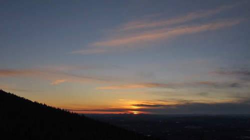from new sunset mountain cherry mt martha nh hampshire february feb 2012