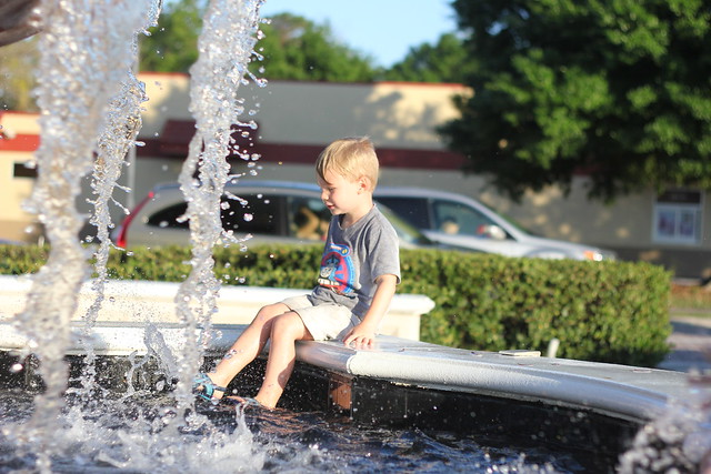 Splashing in the Fountain