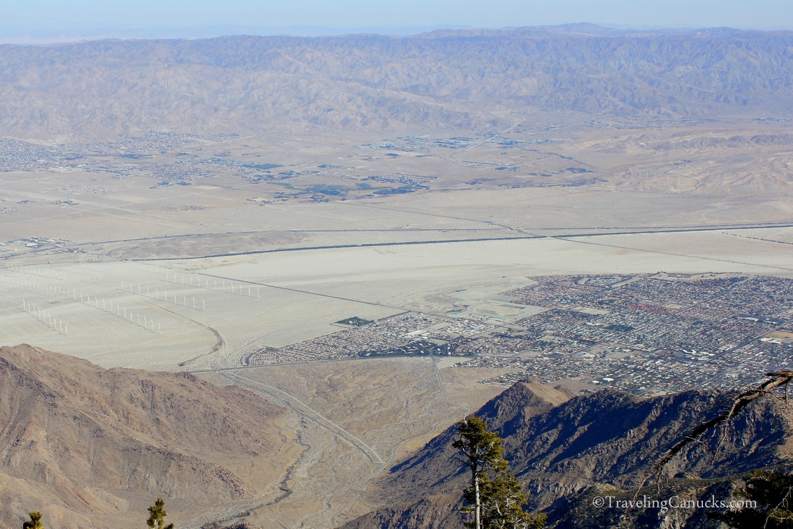 Panoramic views of the Coachella Valley