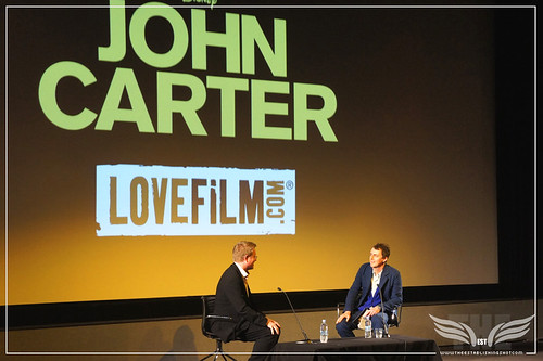 The Establishing Shot: UK John Carter Premiere QA Director Garth Jennings interviews Andrew Stanton - BFI, London by Craig Grobler