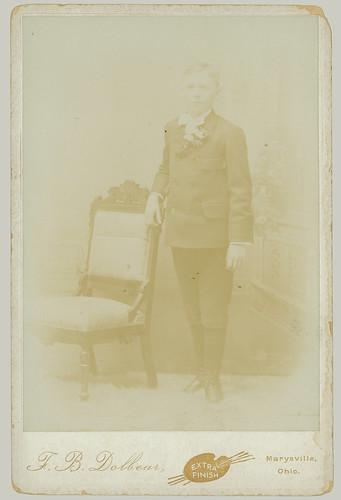 Cabinet Card portrait man standing