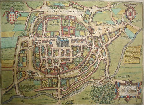 mapa de Braga, Braun by cochinilha
