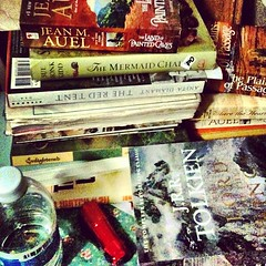 #marchphotoaday - my bedside #books