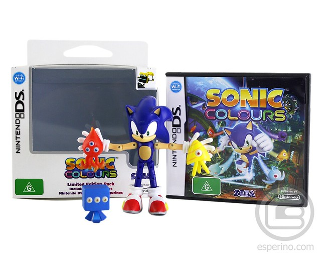 Sonic Colours Limited Edition DS Unboxing