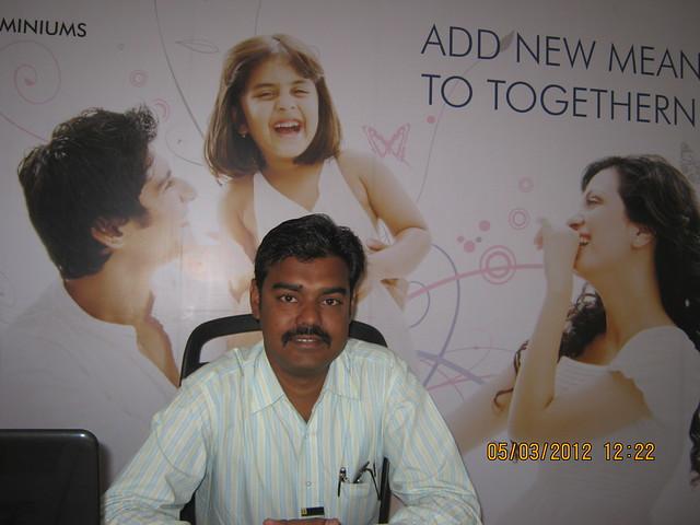 Vikram Zende, Manager Sales, at Suhas Mantri Constructions' Mystica, 3 BHK Flats behind Shivar Garden Hotel, Rahatani, Pune 411017