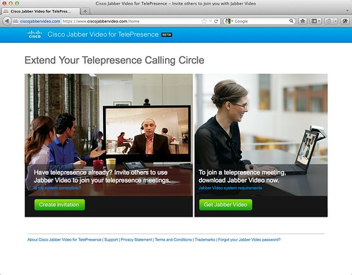 Cisco Jabber Video for TelePresence - Invite others to join you with Jabber Video