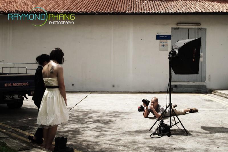 Pre-Wedding behind the scene - 1