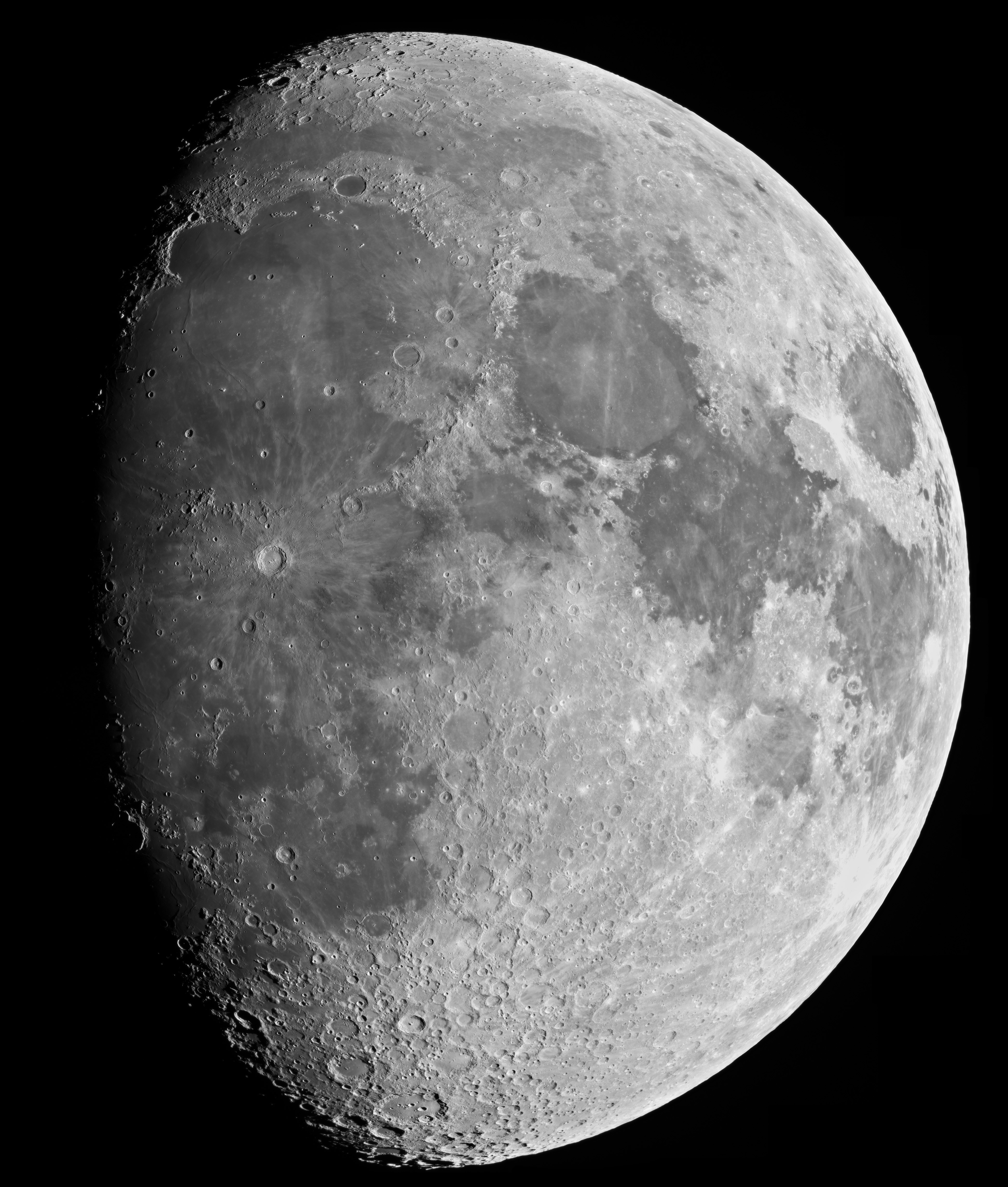 jaw dropping moon mosaic bad astronomy bad astronomy