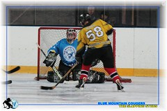 Blue Mountain Cougars Hoorn vs Studs 2 - 21 januari 2012