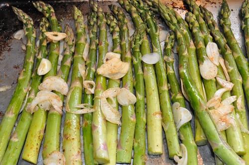 asparagus roasted 6