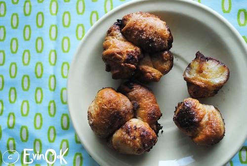 Croissant Monkey Muffins