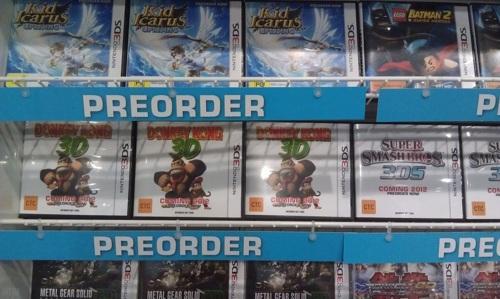 Rumor: EB Games Taking Pre-Orders for Donkey Kong 3D