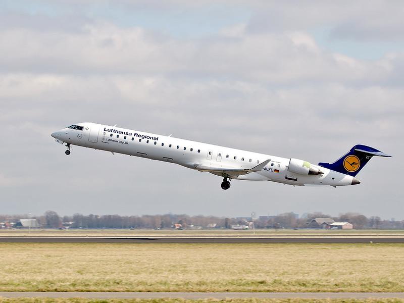 Lufthansa Regional - Polderbaan Schiphol