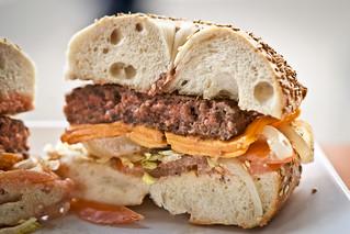 The Bagel Burger