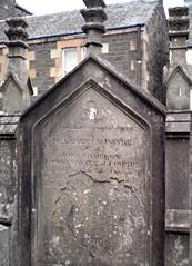 COMRIE churchyard, Perthshire, Scotland