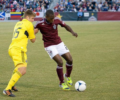 Rapids vs. Crew 2012 Luis Zapata by CE's Photography