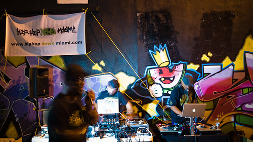 Four Turntables and one Emcee, Soulchild, Plan Beats Art Walk, Miami