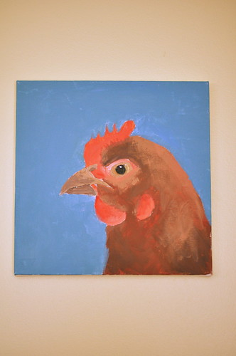 chicken painting #2