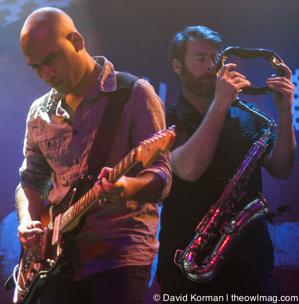 Balkan Beat Box @ The Fillmore, SF 3/15/12