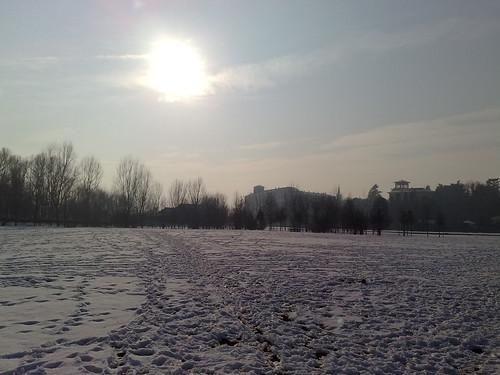 Il sole che scoglie la neva by durishti