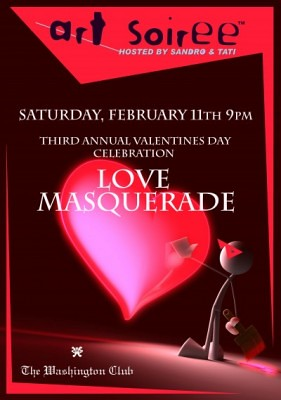 Art Soiree Love Masquerade