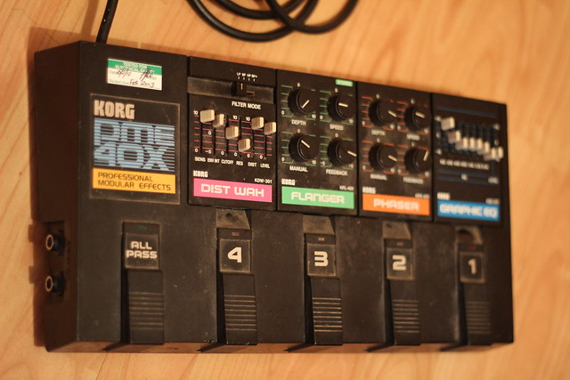 Photo:Korg PME-40X modular effects board By Joybot