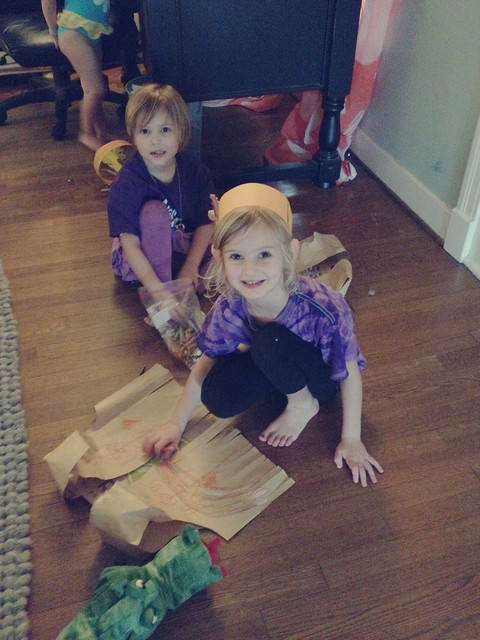 aves and mazzy making vests