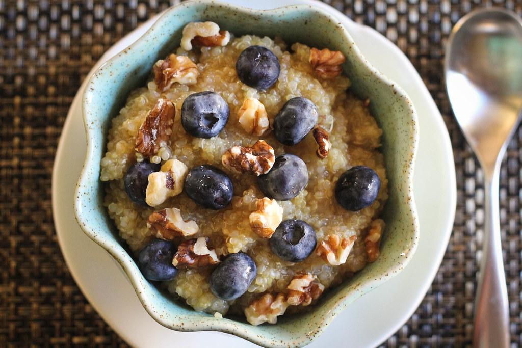 Apple-Scented Breakfast Quinoa   The Happy Go Lucky Vegan