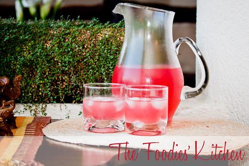 Old Fashioned Pink Lavender Lemonade