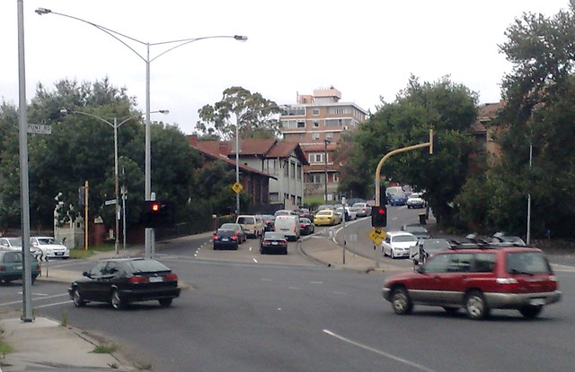 POTD: Punt Road weekend congestion