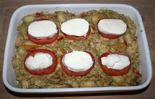45 - Mozzarella hinzufügen / Add mozzarella
