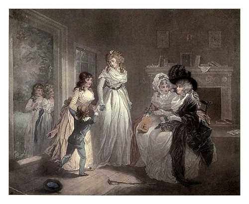 011-Una visita al internado 1789-George Morland-Old English colour prints 1909-Charles Holme