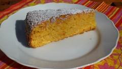 Rüeblitorte - mrkvový dort