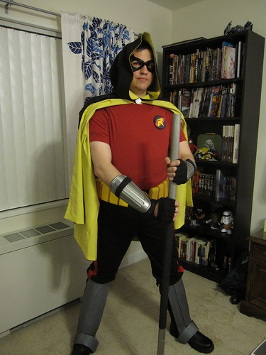 Completed Robin Costume