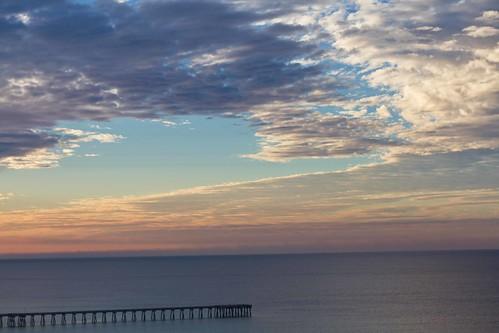 sunrise on the gulf.