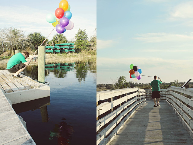 balloon shoot 1 diptych