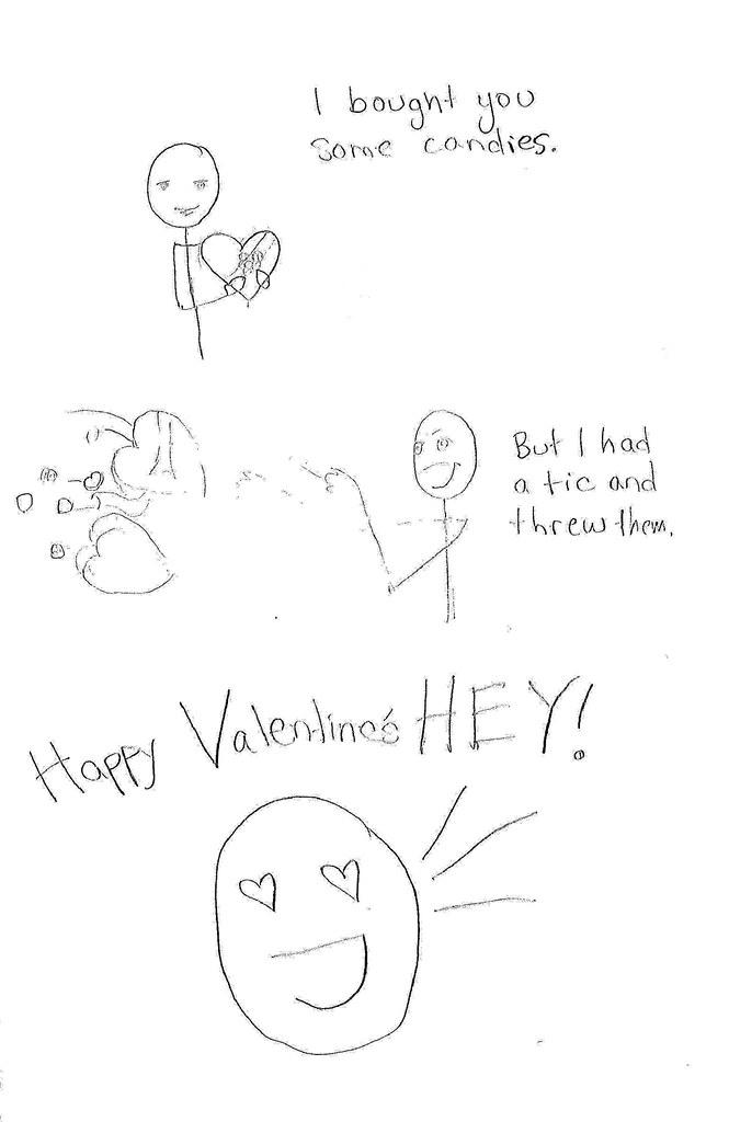Valentine for benjamin