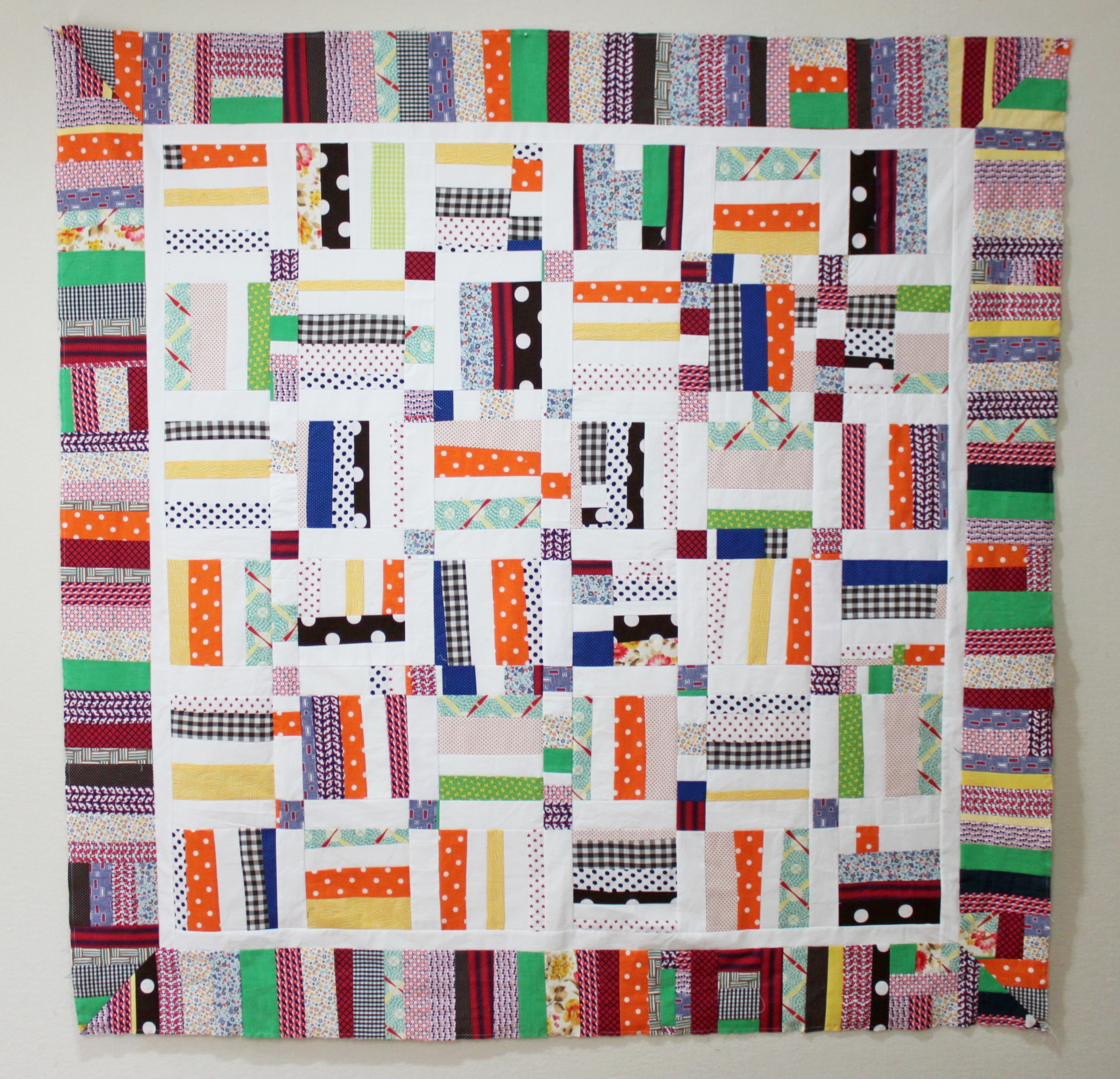 A baby quilt collaboration