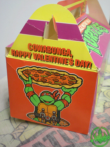 "MELLO SMELLO :: ""TEENAGE MUTANT NINJA TURTLES"" Valentine Kit .. box vi (( 1994 ))"
